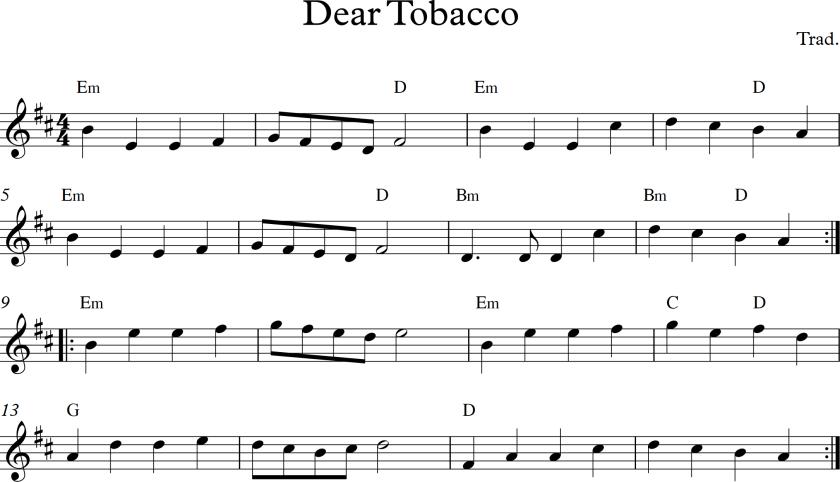 Dear Tobacco