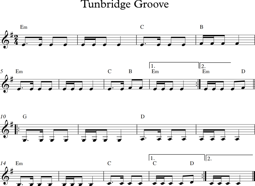 Tunbridge Groove