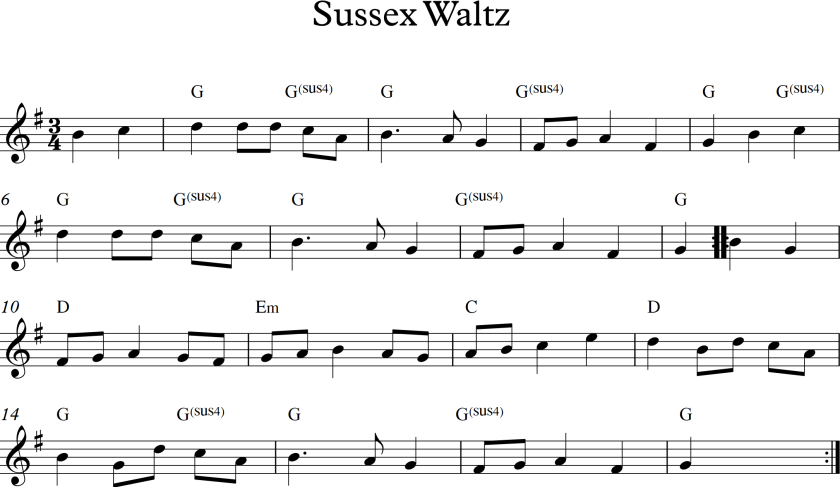 Sussex Waltz
